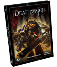изображение Караул Смерти Книга правил (+ Зов Ктулху 7-изд) (Deathwatch (Warhammer 40000) Core Rulebook (+ Call of Cthulhu RPG 7ed))