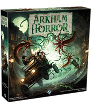 изображение Ужас Аркхэма (3-е издание) (англ)(Arkham Horror (3rd Edition) (eng))