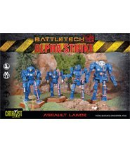 изображение Боевые роботы Battletech: набор Штурмовиков (Battletech: Alpha Strike - Assault Lance Pack)