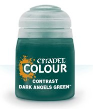 изображение Краска Цитадель Contrast: Dark Angels Green  (Citadel Contrast: Dark Angels Green )