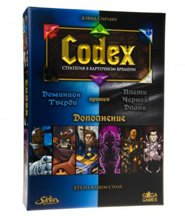 изображение Codex: Синие против Черных (Codex: Card-Time Strategy Flagstone Dominion vs. Blackhand Scourge)
