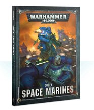 изображение Вархаммер 40000: Кодекс Космический Десант (англ) (Warhammer 40000: Space Marines Codex  )