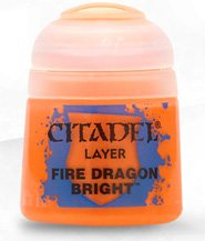 изображение Краска Цитадель Layer: Fire Dragon Bright  (Citadel Layer: Fire Dragon Bright)