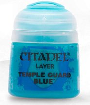 Краска Цитадель Layer: Temple Guard Blue