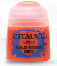 Краска Цитадель Layer: Wild Rider Red