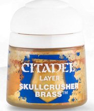 изображение Краска Цитадель Layer: Skullcrusher Brass (Citadel Layer: Skullcrusher Brass)