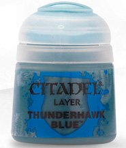 изображение Краска Цитадель Layer: Thunderhawk Blue (Citadel Layer: Thunderhawk Blue)