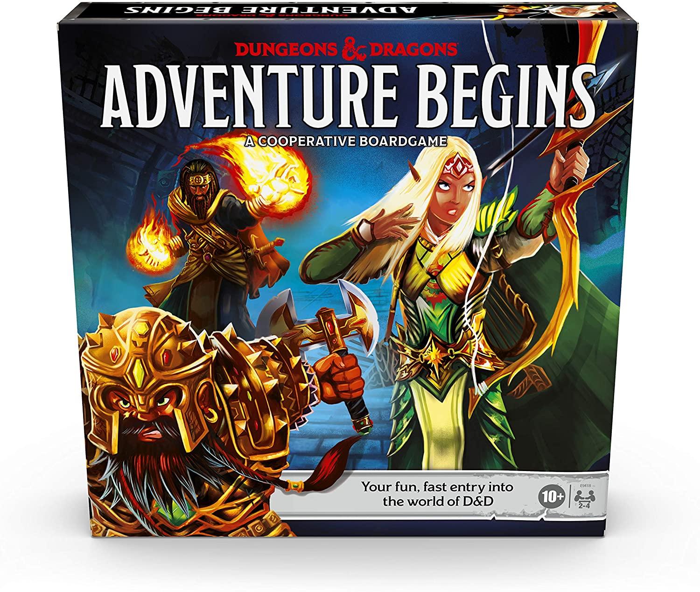 Коробка настольной игры Подземелья и драконы: Приключение начинается