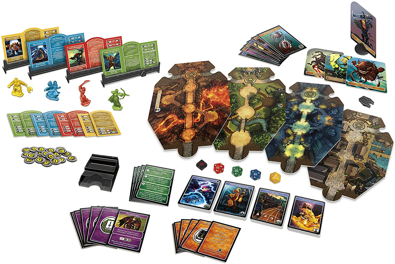 Настольная игра Подземелья и драконы: Приключение начинается и её компоненты