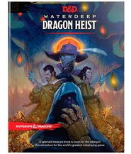 изображение Подземелья и драконы: Уотердип Драконья Кража (Dungeons & Dragons: Waterdeep Dragon Heist Book)