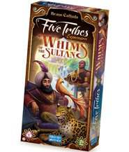 изображение Пять племен: Прихоти султана (Five Tribes: Whims of the Sultan)