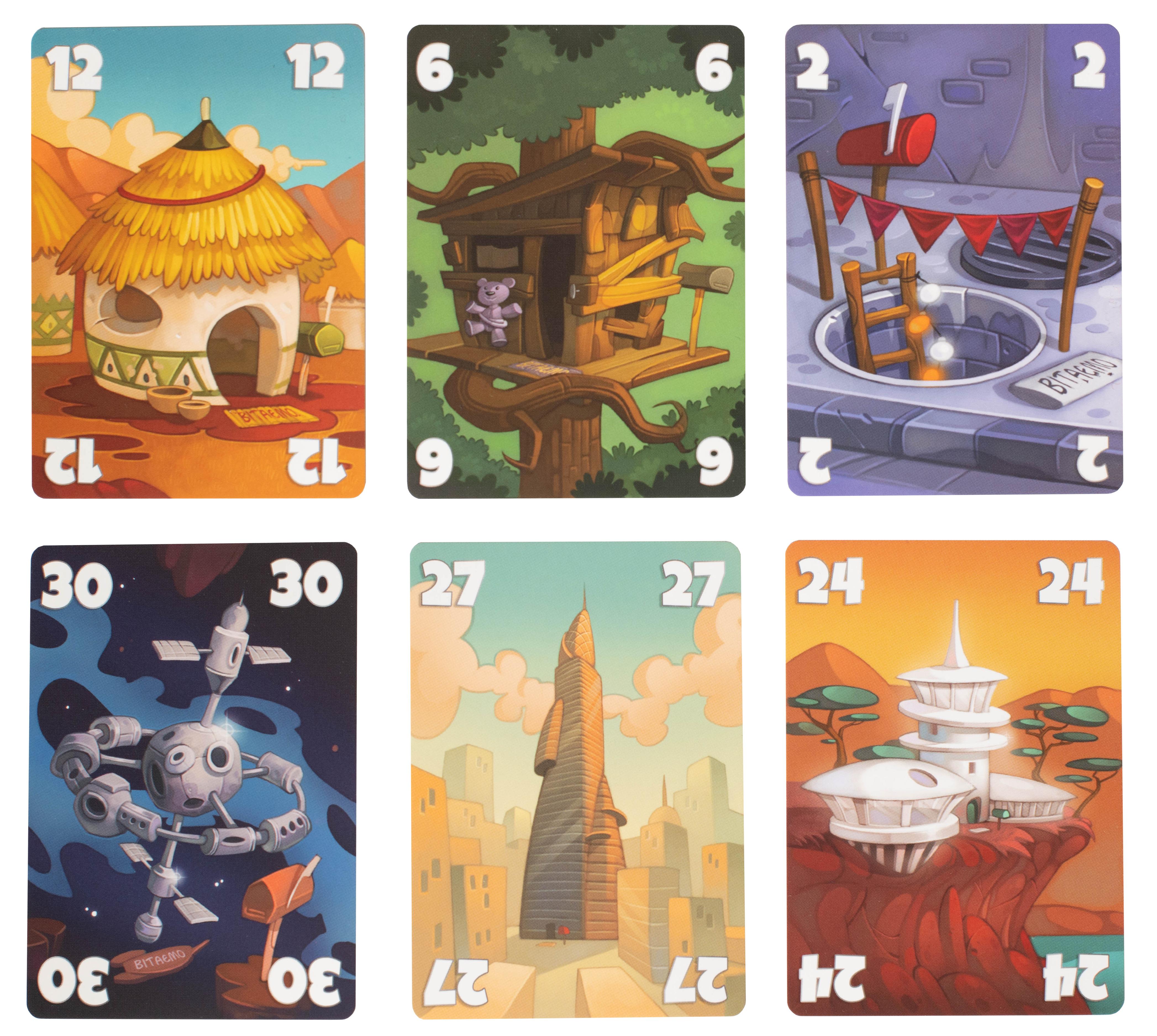 Карты настольной игры З молотка