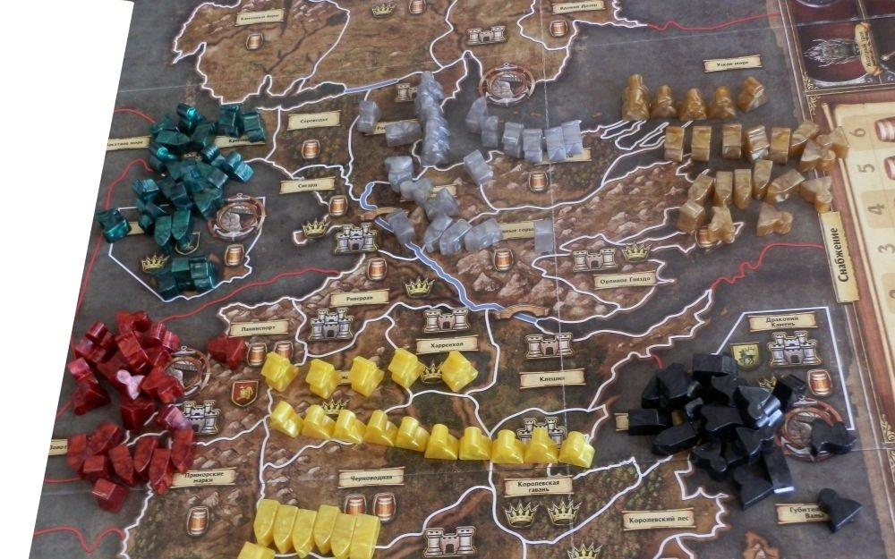 Игра престолов (2-е издание) (рус.): игровой процесс