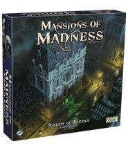 изображение Обитель безумия (второе издание) Улицы Аркхема (Mansions of Madness (second edition) Streets of Arkham)
