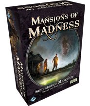изображение Обитель безумия (второе издание) Смутные воспоминания (Mansions of Madness (second edition) Suppressed Memories)