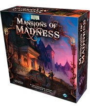 изображение Обитель безумия (второе издание) (Mansions of Madness (second edition))