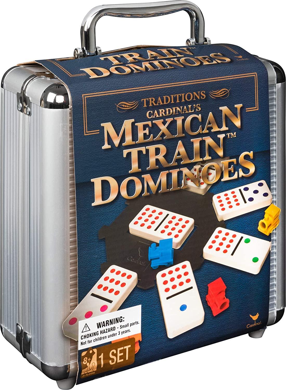 Упаковка настольной игры Домино Мексиканский Поезд (кейс)