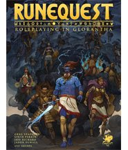 изображение Рунный квест: Глоранта Книга правил  (Runequest: Glorantha Core Rulebook)