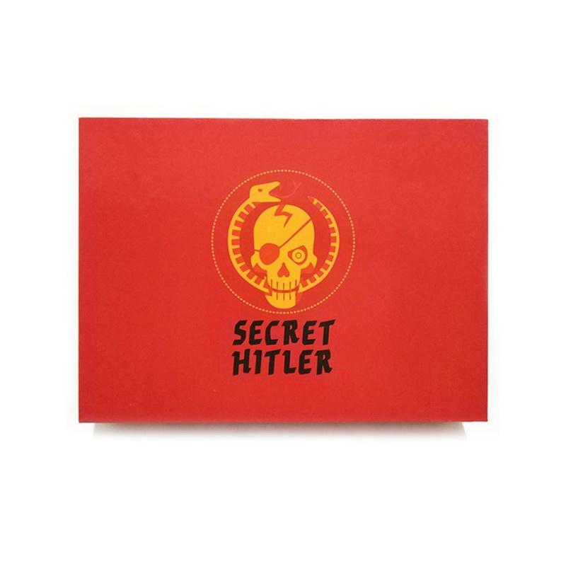 Коробка настольной игры Тайный Гитлер (Красная Коробка)