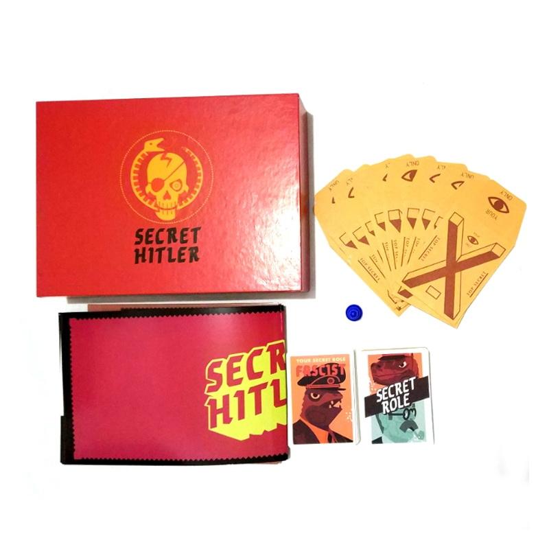 Настольная игра Тайный Гитлер (Красная Коробка)