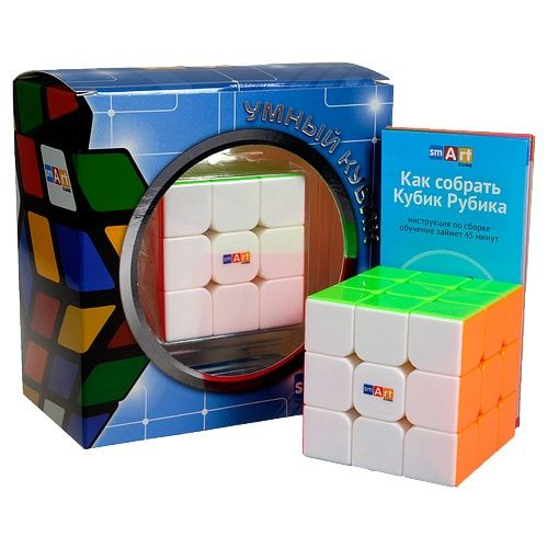 изображение Smart Cube кубик Рубика 3x3 без наклеек (Smart Cube 3x3 Stickerless Rubik's Cube)