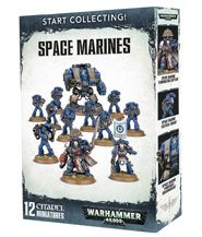 изображение Вархаммер 40000: Стартовый набор Космодесантники (Warhammer 40000: Start Collecting! Space Marines)