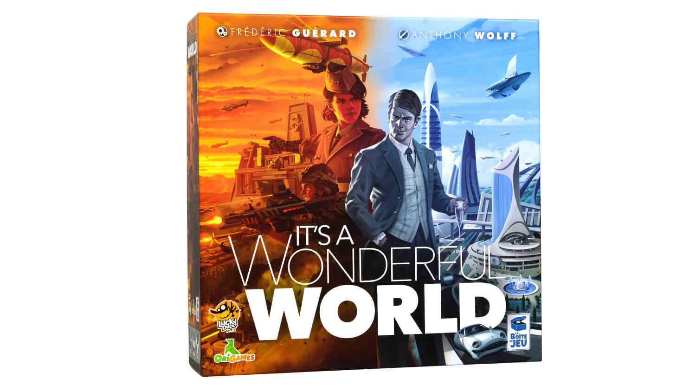 Коробка настольной игры Этот безумный мир